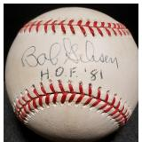 3144: Hall of Fame, Bob Gibson Autographed Baseball