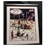3159: 1980 Miracle on Ice Hockey Olympics Team Signed