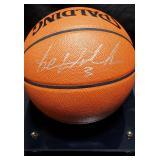 3156: Detroit Pistons, Ben Wallace Autographed Basketball