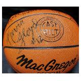 3154: Multi-Star Signed Basketball: Kevin Floyd etc.