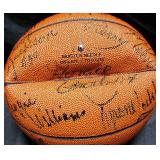 3154: Multi-Star Signed Basketball:Reggie Williams, Horace Grant