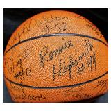 3154: Multi-Star Signed Basketball: