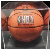3151: Isiah Thomas Autographed Basketball