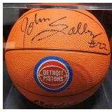 3152: Detroit Pistons, John Salley Signed Basketball