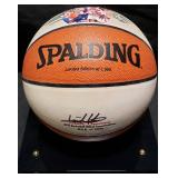 3150: Isiah Thomas Signed Hall of Fame Basketball