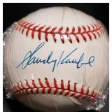 3139: Sandy Koufax Autographed  Baseball