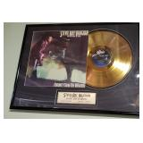 Stevie Ray Vaughn Gold Record