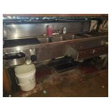Undercounter 4 Bay Sink