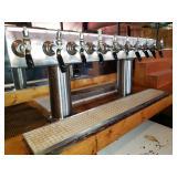 10-Tap Beer Keg System