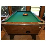 4 ct Valley Commercial Pool Billards Table Tables