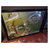 Bud Light Lime Beer Mirror