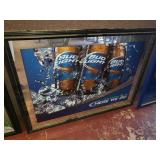 Bud Light Here We Go Beer Mirror