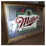 Miller High Life Beer Mirror