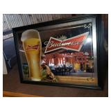 Budweiser Beer Mirror