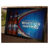 Bud Light Whatever Happens Beer Mirror