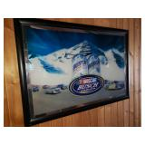 NASCAR Busch Series Beer Mirror