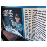 NASCAR Kevin Harvick Huge Wall Schedule Promo