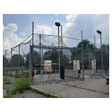 Elaborate Commercial Batting Cage System