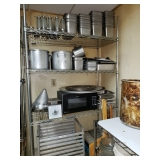 Commercial Cooking Pans, Bins, Pots and More