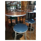 High Top Tables and Stools