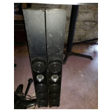 Singing Machine Karaoke System Speakers