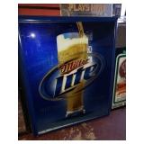 Miller Lite Beer Mirror