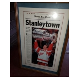 Steve Yzerman Detroit Red Wings Sign