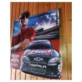 NASCAR Kevin Harvick Budweiser Tin Promo