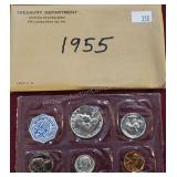 1955 United States Silver Proof Set