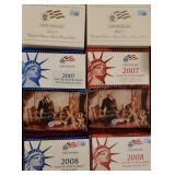 2007-2008 US Mint Silver Proof Sets & More!