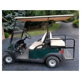 Club Car Golf Cart with Extra Seating