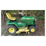 John Deere 455 Riding Tractor Mower
