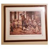 The Iceman by Artist Jim Daly Signed Print