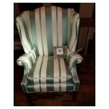 Historic Baker Wing Back Sofa Chair