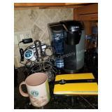 Keurig System with Rack & Starbucks Mug