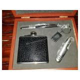 Brand New Flask and Accessories Set