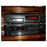 Pioneer Multi Disc and Pioneer Stereo Receiver