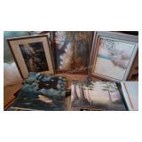 Group Lot of Various Artwork