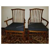 Pair of Tree Root Side Chairs