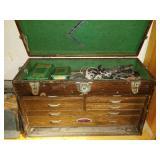 Vintage Carpenters Tool Box, Kennedy Fishing Box