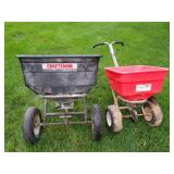 Craftsman and Earth Way Broadcast Spreaders