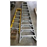 Group of 3 Step Ladders including Werner