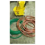 Cleaning Supplies: Mop Bucket and Hoses
