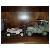 Pair of Danbury Mint Vehicles with WWII Jeep