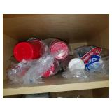 Red Solo Cups, Plasticware and Plates