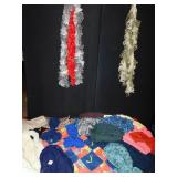 HANDMADE SCARVES ALL DIFFERENT STYLES AND COLORS,