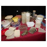 BUNT CAKE PANS, STORAGE CONTIANERS WITH LIDS,