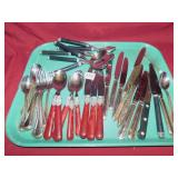 ASSORTED NON MATCHING FLATWARE