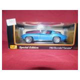 MAISTO CAR MODEL 1965 CORVETTE IN ORIGINAL BOX