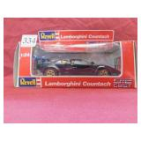 REVELL LAMBORGHINI COUNTACH DIE CAST METAL CAR
